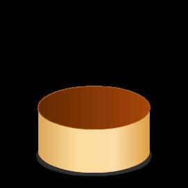 Pastel redondo